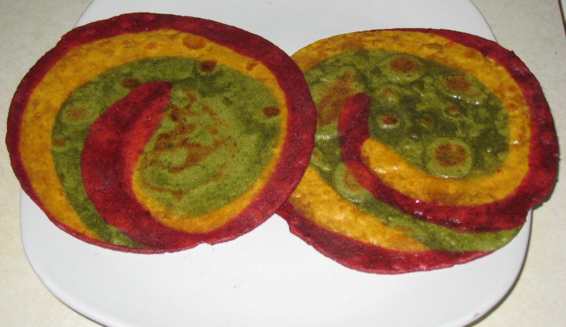 How to make tri colour poori famous indian recipes easy veg recipes tri colour poori forumfinder Image collections