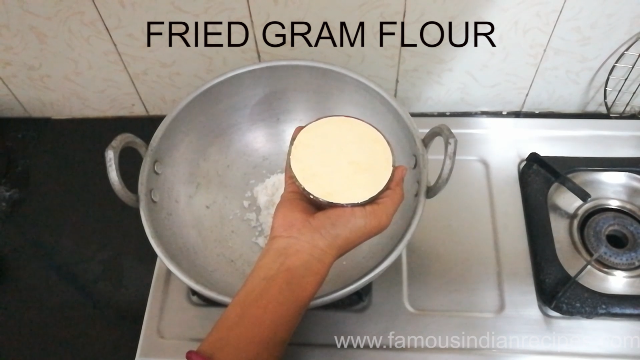 Fried Gram Flour one Cup