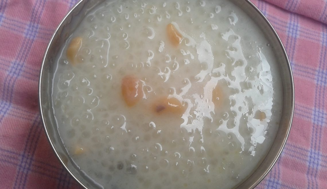 sabudana payasam recipe