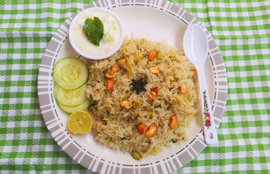 Murungakkai Biryani recipe, how to make Murungakkai Biryani recipe, drumstick biryani recipe