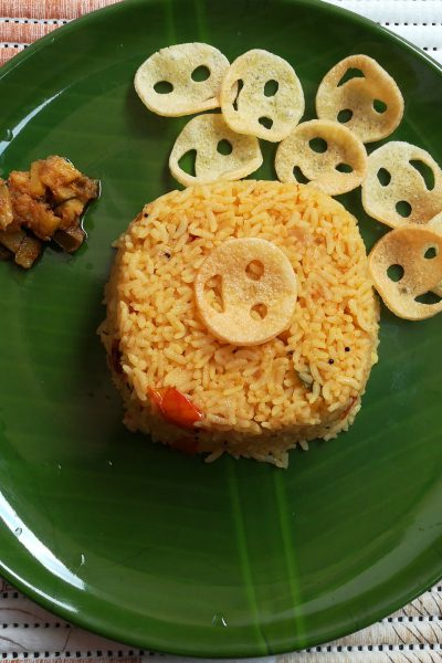 Famous Indian Recipes - tomato rice recipe