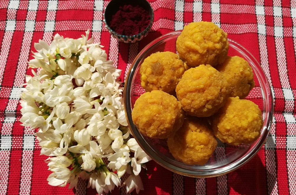 Boondi laddu recipe
