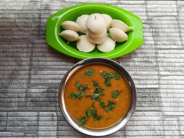 Mini Sambar Idly recipe