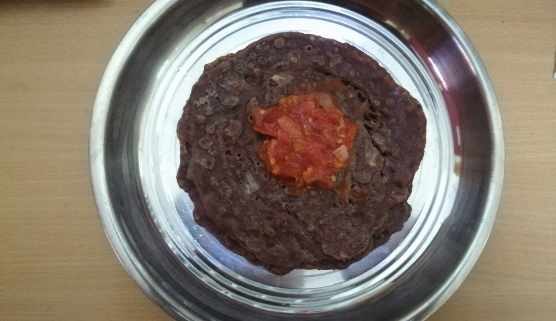 Instant Ragi Dosa – how to make Instant Ragi Dosa, Finger Millet Dosa