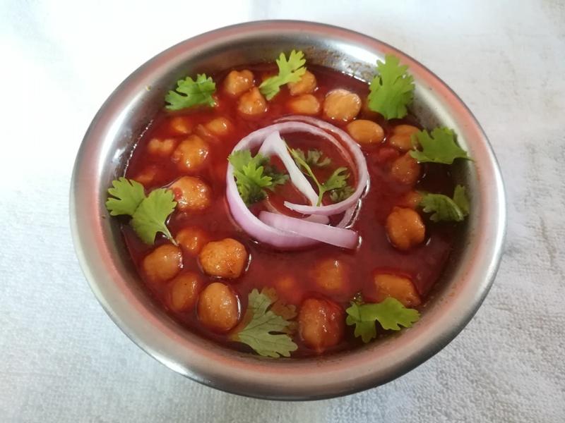 Channa gravy