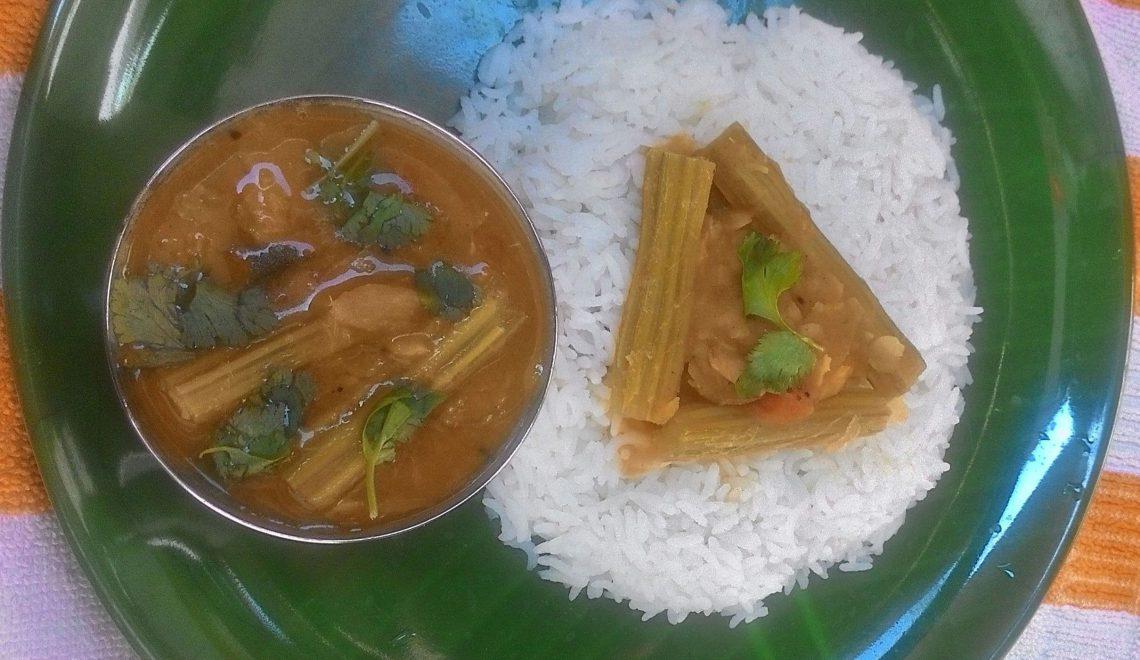 murungakkai paruppu recipe