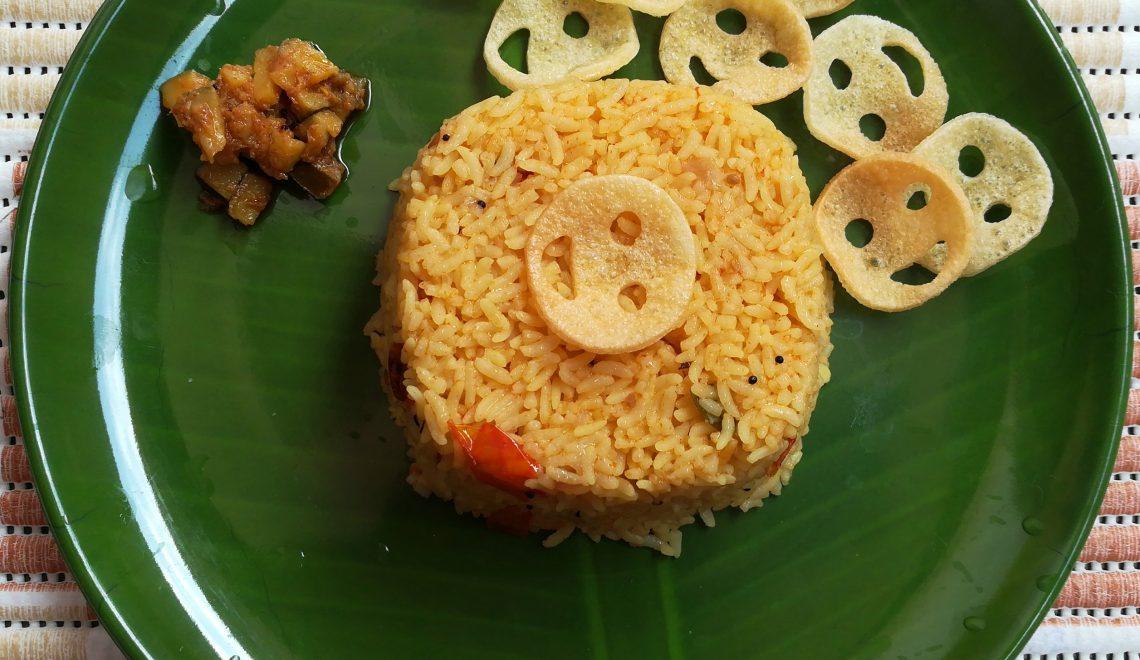 Famous Indian Recipes - tomato rice recipe