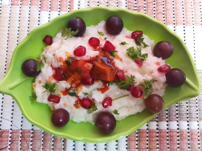 Curd rice recipe – How to make curd rice recipe ? Thayir sadam, Bagala bath recipe