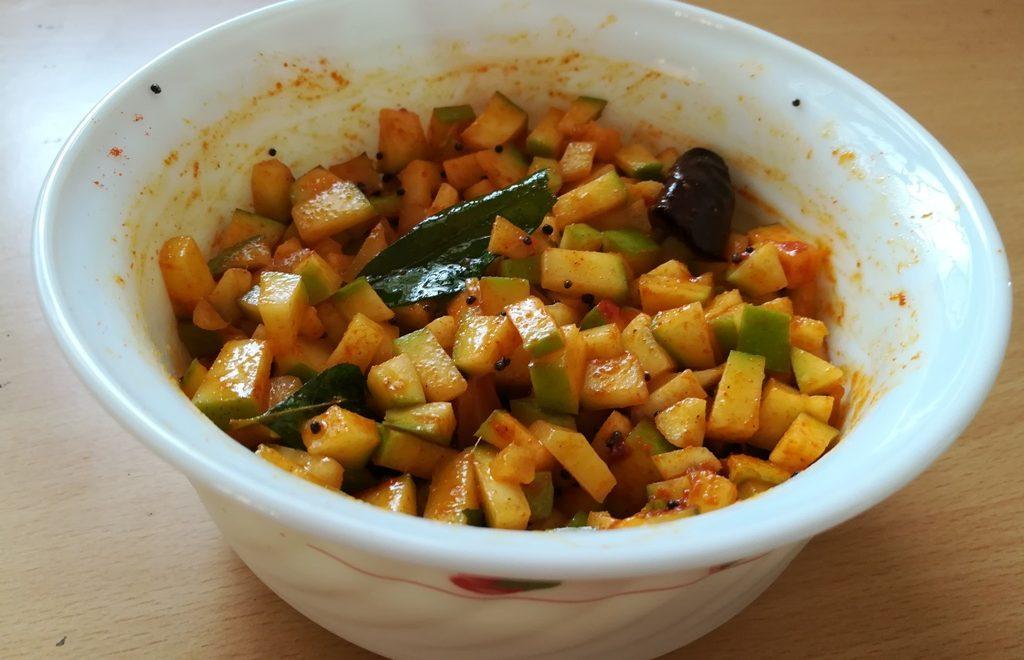 Instant mango pickle recipe
